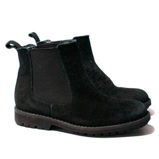 Bonpoint Back Suede Chelsea Boots
