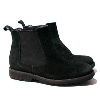 Bonpoint Back Suede Chelsea Boots