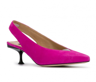 Sergio Rossi Milano Pink Slingback Sandals