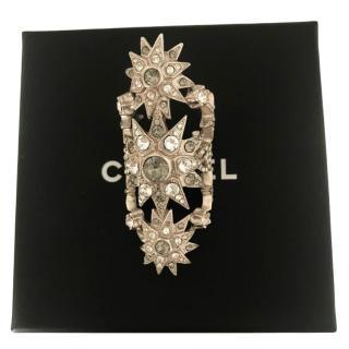 Chanel Long Triple Star Ring