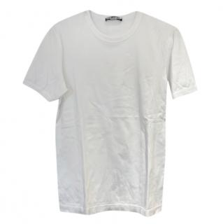 Dolce & Gabbana Mens white classic t-shirt