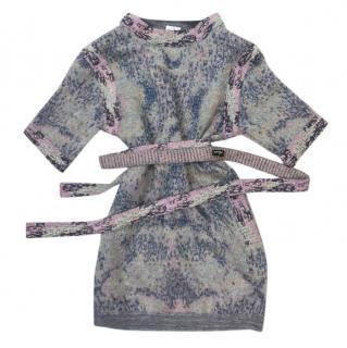 Chanel Mohair Blend Multi-Colour Knit Dress