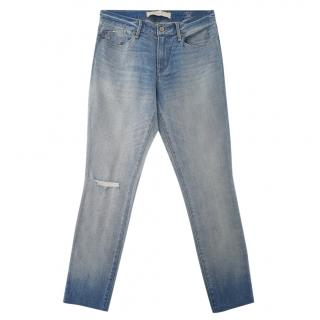 Marc by Marc Jacobs Blue Distressed Jeans