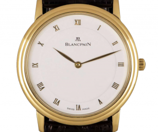 Blancpain 34mm Yellow Gold Villeret Wristwatch