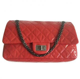 Chanel Red Patent Leather Reissue 225 Shoulder Bag