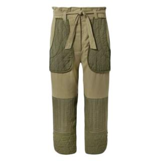 Sea New York Khaki Cotton Twill Trousers