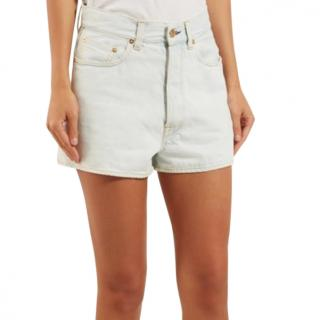 Golden Goose Judy high rise denim shorts