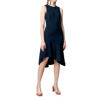 P.A.R.O.S.H. Navy Crepe Poloxy Dress