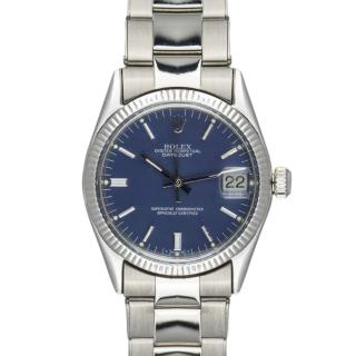 Rolex 30mm White Gold Oyster Datejust Watch