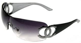 Chanel Violet 4125 Shield Sunglasses