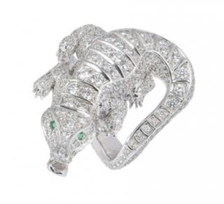 Bespoke Diamond Set Platinum Ring
