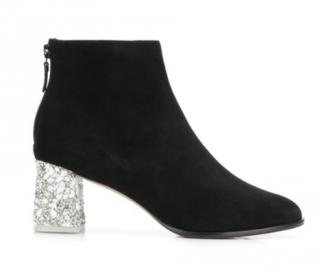 Sophia Webster Stella Embellished Mid Ankle Boots