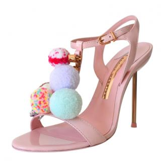 Sophia Webster Layla Pom Pom sandals