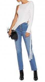 Ellery High Waisted Straight Leg Monroe Jeans