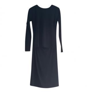 MM6 Maison Margiela Overlay Black Dress