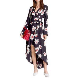 Equipment Gowin Silk Wrap Dress