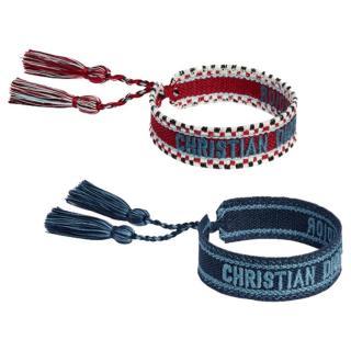 Dior Embroidered J'adior Bracelets