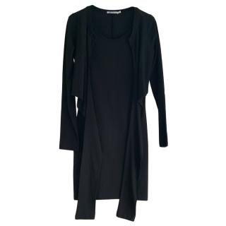 T by Alexander Wang black tie front dress