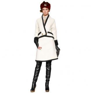 Chanel Paris-Moscow Ecru Tweed Crossover Jacket