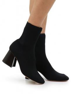 Celine Block Heel Sock Boots