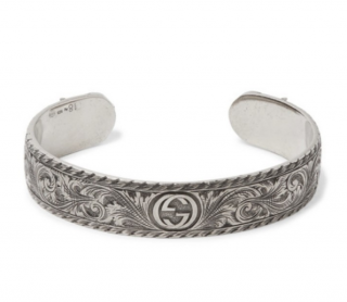 Gucci Feline Head Sterling Silver Cuff