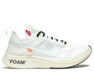 Off-White x Nike 10 Zoom Flyknit Sneakers