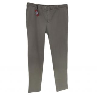 Isaia Sandy Beige Men's Chinos