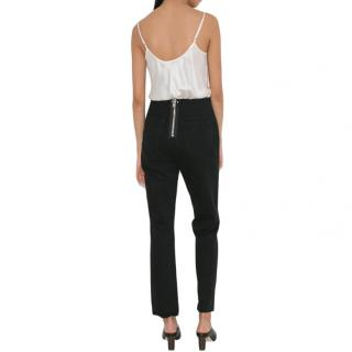 T by Alexander Wang Cult Clean Black Fade Jeans
