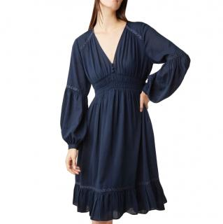 Closed Navy Ophelia Cotton Poplin Dress