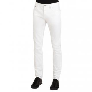 Burberry Brit Shoreditch white jeans