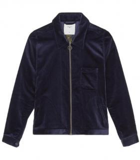 Percival Velvet Bomber Jacket