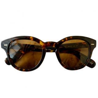 Oliver Peoples Cary Grant Tortoiseshell Sunglasses