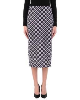 Diane Von Furstenberg Kara Printed Midi Skirt