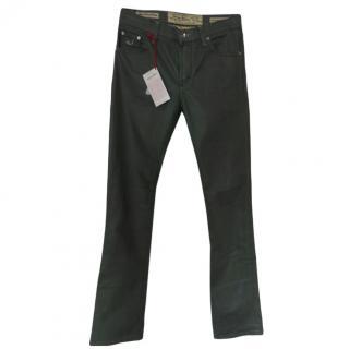 Jacob Cohen 710 Khaki Jeans