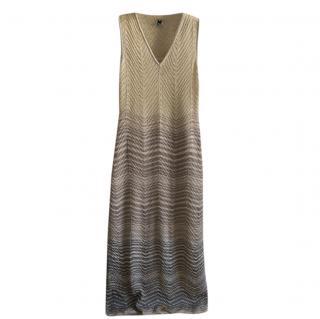 M Missoni Pastel Ombre Knit Summer Dress
