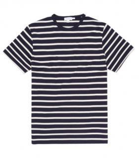 Sunspel Sun Breton Stripe T-Shirt
