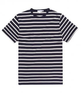 Sunspel Sun Breton Stripe T-Shirt