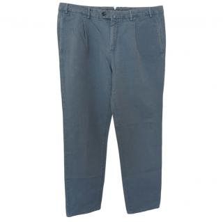 Loro Piana Grey Men's Chinos