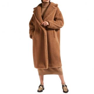 Max Mara Camel Teddy Coat