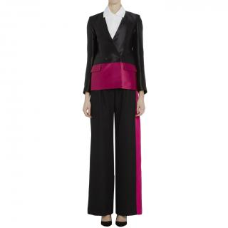 Eudon Choi Flaine jacket in magenta/black