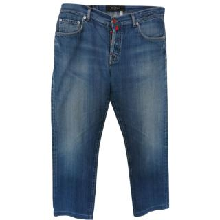 Kiton Distressed Men's jeans