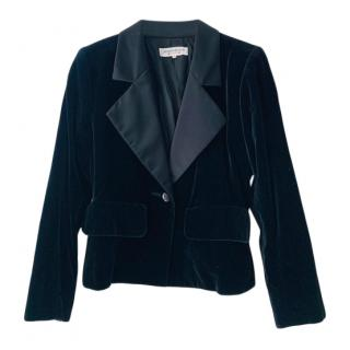 Yves Saint Laurent Vintage Velvet Blazer