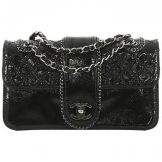 Chanel Madison Flap Bag in Quilted Patent Leather