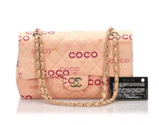 Chanel Medium Coco Blush Double Flap Bag