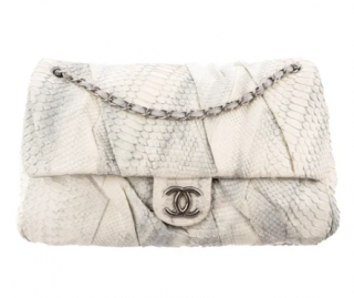 Chanel Jumbo XL Python Twisted Flap Bag