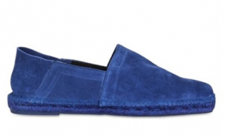 Tom Ford Blue Suede Espadrilles