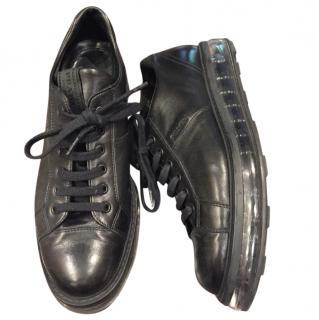 Prada Black Platform Sneakers