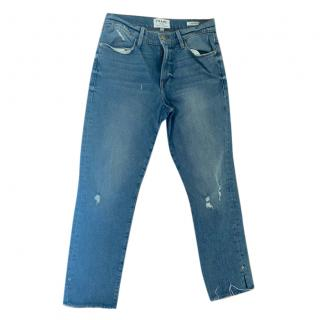 Frame Distressed Le High Skinny jeans