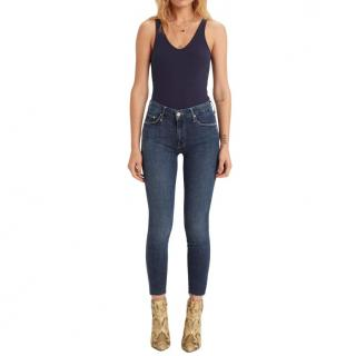 Mother Blue Stretch Denim Jeans