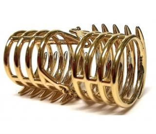 Shaun Leane Gold Double Quill Ring